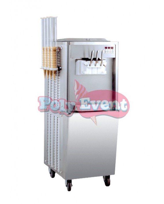 Machine à glace italienne professionnelle 2700 Watts