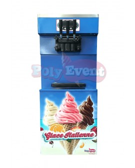 Machine Glaces Italiennes Professionnelle 2700W - Habillage Complet